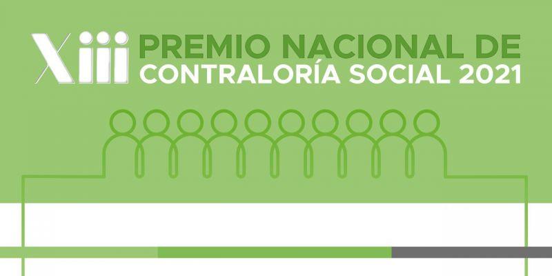 PREMIO NACIONAL DE CONTRALORÍA SOCIAL 2021